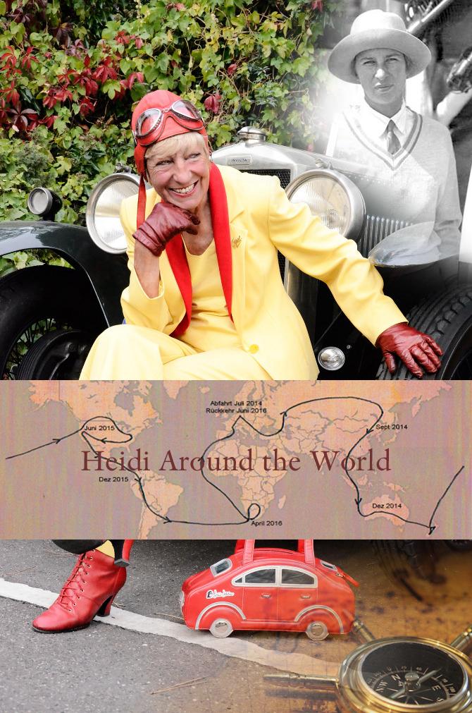 Heidi around the world