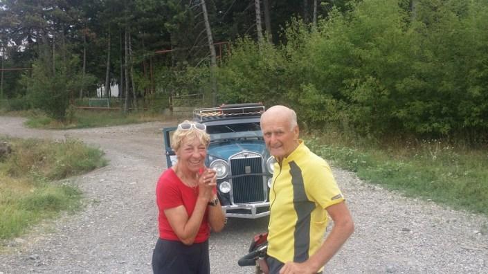 Bernd Friese und Heidi Hetzer