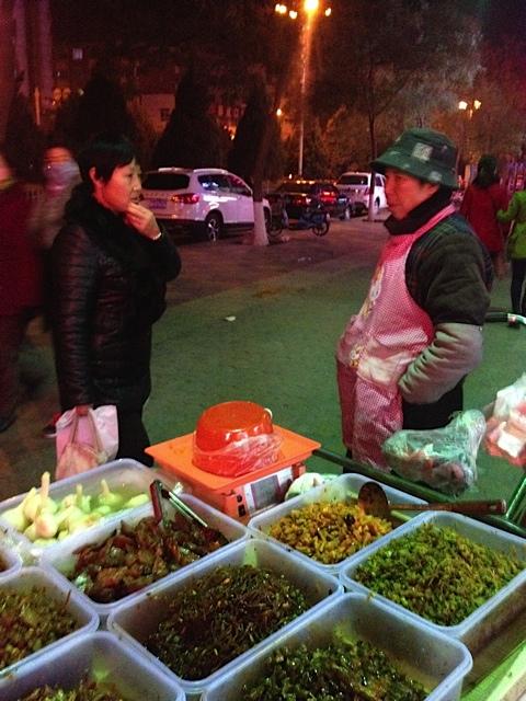 Plausch auf dem Markt