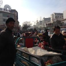 Am Liebsten würde ich den ganzen Tag auf dem Markt verbringen.