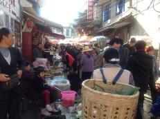 Trubel in den Straßen Chinas
