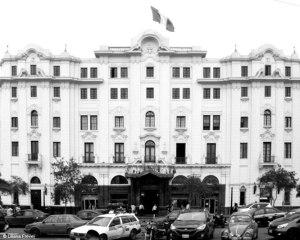 Gran Hotel Bolivar 2016. Im Jahre 1930 wude es um 2 Stockwerke aufgestockt.